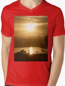 *Glorious Golden Light* Mens V-Neck T-Shirt