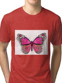 Pink Butterfly (Eternal Collection) Tri-blend T-Shirt