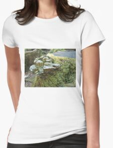 Mushrooms 2 Womens Fitted T-Shirt