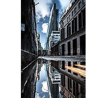 Inclination - London Lights Photographic Print