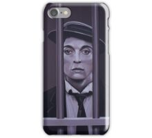 Buster Keaton Painting iPhone Case/Skin