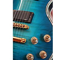 Guitar Blues   Photographic Print