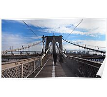 New York Brooklyn Bridge nr 1 Poster