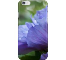 Ethereal blue - rose of sharon iPhone Case/Skin