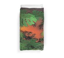 Tropical Glow Duvet Cover