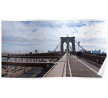 New York Brooklyn Bridge nr 2 Poster