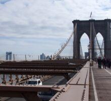 New York Brooklyn Bridge nr 2 Sticker