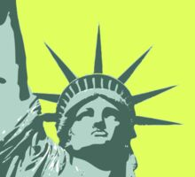 Liberty statue Sticker