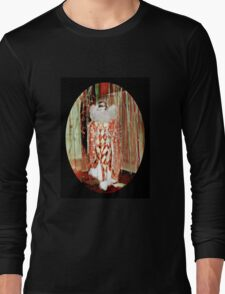 Starlet in a Harlequin Costume Long Sleeve T-Shirt