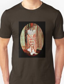 Starlet in a Harlequin Costume Unisex T-Shirt