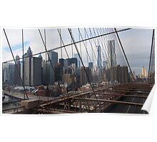 New York Brooklyn Bridge nr 3 Poster