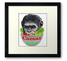 Caesar Salad Framed Print
