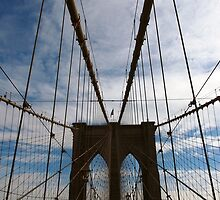 New York Brooklyn Bridge nr 4 by silvianeto