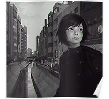 Shibuya River Poster