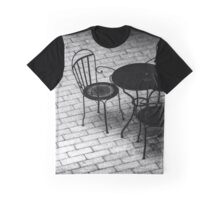 Wrought Iron Table And Chairs - Kykuit Rockefeller Estate | Sleepy Hollow, New York Graphic T-Shirt