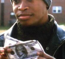 The Wire - Money be green Sticker