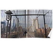 New York Brooklyn Bridge nr 5 Poster