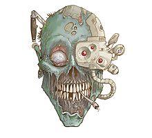 Zombie Robot! Photographic Print