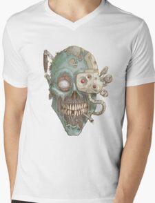 Zombie Robot! Mens V-Neck T-Shirt