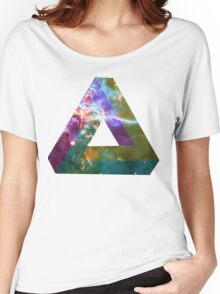 God's Impossible Triangle V1 | MXTHEMATIX Women's Relaxed Fit T-Shirt