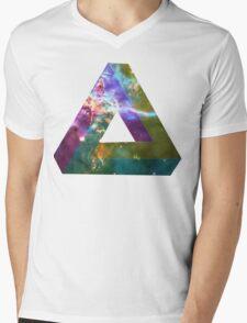 God's Impossible Triangle V1   MXTHEMATIX Mens V-Neck T-Shirt
