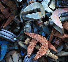 rusty-blue 4 by Astrid Driesen