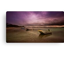 Pick a boat  01 Canvas Print