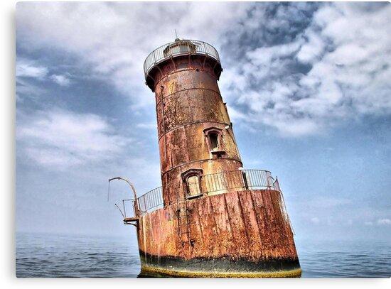 Sharps Island Lighthouse by Monnie Ryan