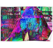 Fractured Glass Poster