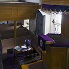 Lunna Kirk Interior by WatscapePhoto