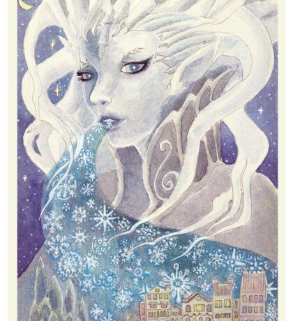 Lady Frost Sticker
