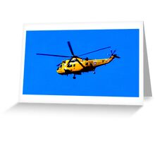SEAKING RESCUE Greeting Card