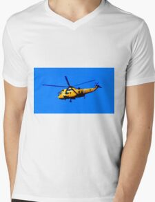 SEAKING RESCUE Mens V-Neck T-Shirt