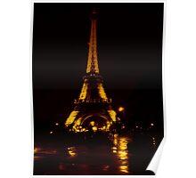 Golden Tower Poster