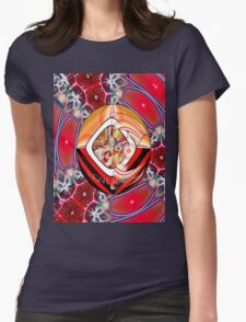 *Love & Wisdom ** Womens Fitted T-Shirt