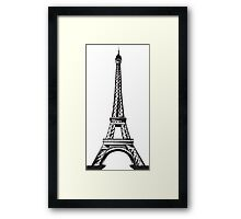 Eiffel tower (Eternal Collection) Framed Print