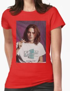 Johnny Depp - Halftone Series Womens Fitted T-Shirt