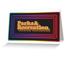Parks and Rec - Limited Edition Logo Greeting Card