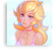 Princess Peach Metal Print