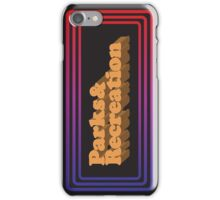Parks and Rec - Limited Edition Logo iPhone Case/Skin