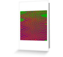 TIME AND SPACE DESOLVING IN THE ELEVENTH UNIVERSE Greeting Card