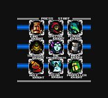 Megaman 2 - Shovel Knight boss select screen Unisex T-Shirt