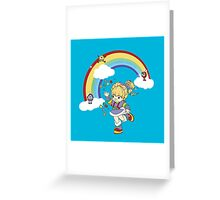 rainbow brite Greeting Card