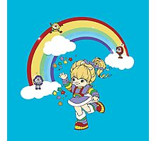 rainbow brite Photographic Print