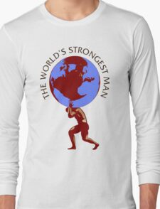 Worlds Strongest Man Competition Srrongman Long Sleeve T-Shirt