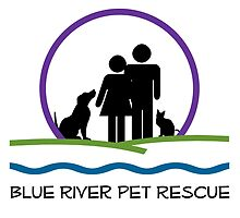 Blue River Pet Rescue Logo by blueriverpet