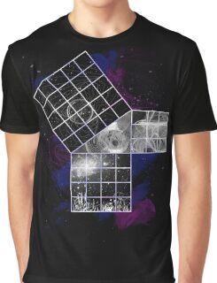 Pythagoras Abstract Design Graphic T-Shirt
