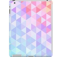 Multicolor Pastel Geometric Art Design iPad Case/Skin