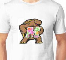 University of Maryland Testudo Lilly Pulitzer Print Unisex T-Shirt