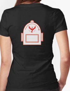 Pokemon Go backpack- Team Valor Womens Fitted T-Shirt